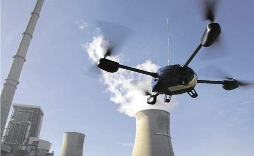 fly-me - drones - prises de vues aériennes - industrie